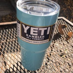 14c02cf4c61 Yeti Accessories | Tiffany Blue Sky Blue 30oz Rambler | Poshmark
